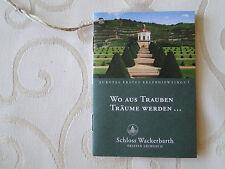 Schloss Wackerbarth / Gutschein Weinführung / Geschenk Nähe Dresden /Weihnachten