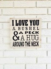 I Love You, A Bushel and a Peck, I Love You Sign, Sweet I Love You Sign