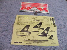 Mach 1  decals 1/144 Malaysian Airline System A300 DC-10-30   C68