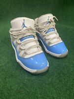 Nike Air Jordan 11 Retro Low BP 'UNC'  505835-106 Basketball Shoe Boys Size 12C
