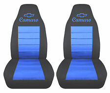 cc 1982-2002 chevrolet camaro FRONT SET  car seat covers color choice iroc-z 28