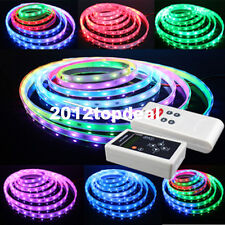 5M 6803 IC 5050 RGB Dream Color LED Strip Waterproof + 133 RF Controller