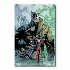 Batman Ninja DC Animated Movie Silk Cloth Art Poster Decor 19L