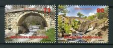 Macedonia 2018 MNH Bridges Europa Bridge 2v Set Storks Birds Architecture Stamps