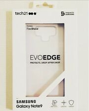 Tech21 EvoEdge Samsung Galaxy Note 9 Case Ultra Thin Clear NEW in Package