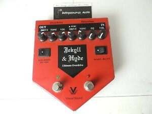 Visual Sound Jekyll and Hyde Distortion/Overdrive Effects Pedal Version 1 V1