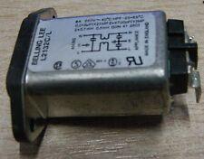 Lee Belling l2132c/l 6a IEC entrada a la red eléctrica de filtro l2132c/l ángulo recto