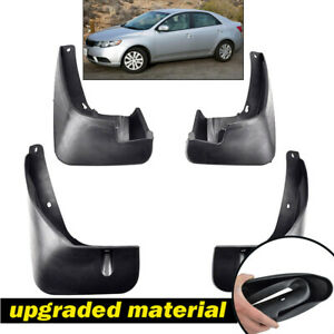For Kia Forte Cerato 2010 - 2013 4-Door Sedan Mud Flaps Splash Guards Mudguards