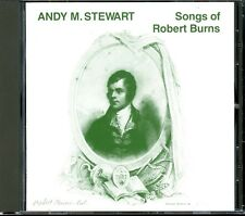 ANDY M. STEWART Songs Of Robert Burns CD RARE ORIGINAL 1989 GERMAN IMPORT- MINT!