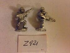 20mm Military Troops - 2 Metal Figures Z921