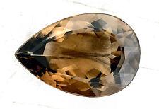 100.50 Carat Natural Pear Teardrop Natural Smoky Quartz Gem Stone Gemstone EBS15