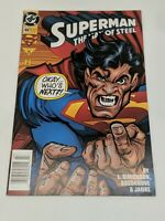 Superman The Man of Steel #46 (July 1995) Vintage DC Comics Free Shipping