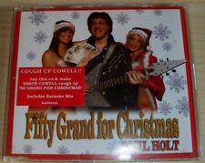 Fifty Grand for Christmas [Single] by Paul Holt CD 2004, Sanctuary