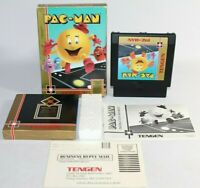Pac-Man NES Nintendo Complete CIB Authentic & Tested w/ Registration! Very Nice!