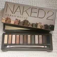 Genuine URBAN DECAY Naked2 Eyeshadow Palette & Brush BNIB