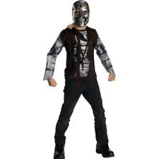 Terminator Salvation T-600 Child Costume 8-10 Med New Halloween Shirt & Mask