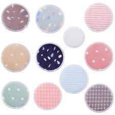 10pcs Reusable Makeup Remover Pads Soft Bamboo Fiber Facial Cotton Round Pad