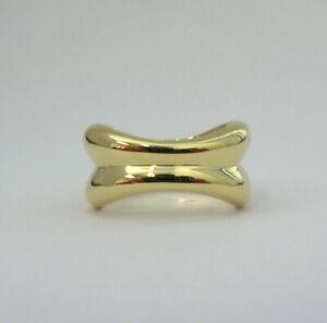 TIFFANY & Co. 18K Yellow Gold Danielle Ring 5.5