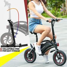 350W Folding Electric Bike Bicycle Adults Commuter City Ebike 20MPH 36V Battery