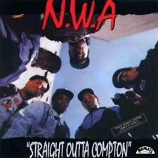 NWA Straight Outta Compton LP Vinyl 33RPM Brand NEW 25th Anniversary
