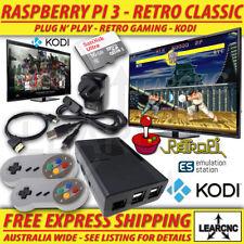 RetroPie Game Console + KODI | RetroPi Nintendo NES SNES N64 Sega Raspberry Pi 3