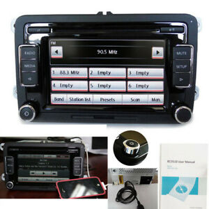 Autoradio RCD510+USB+RVC CD AUX IPOD SD VW Golf GTI PASSAT CADDY POLO TIGUAN EOS