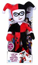 DC Super Friends Large Cool Sounds Talking Harley Quinn Soft Toy *BRAND NEW*