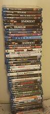 Lot of 47 Used BLU RAYS  Movies - 47 Bulk Used DVDs Wholesale LotBLU RAY