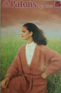 Patons  Book 628 Ladies Knit Wear  7 Ply Flair. Ladies Cardigans ,Jumpers, Jacke