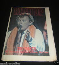NEW ZEALAND MUSIC MAGAZINE U2 NICK CAVE THE CURE AD 1984
