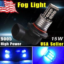 1x 15W High Power 9005 HB3 Bulb Blue LED Fog Driving DRL Light Lamp 12V