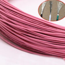 PVC Electronic Wire Flexible Cable UL1007 Equipment Car PC Internal Wires Pink