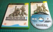 Xbox Game, Metal Gear Solid 2 Substance, Complete