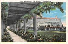 LOS ANGELES, CA California  HOTEL AMBASSADOR  Garden Pergola  c1920's Postcard