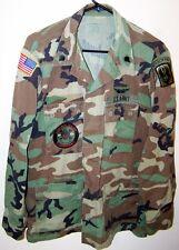 ORIGINAL US ARMY BDU COMBAT COAT - MEDIUM/REG - D Co. 1/131st AVN 'GHOSTRIDERS'