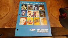 Vintage Antique Collectible Airbrush  Badger Catalog