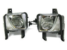VAUXHALL MERIVA 03-06 FOG LAMP LIGHT LEFT + RIGHT SET NEW (H3) GROOVED GLASS