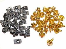 5/16 Body Bolts & Clips Ford Lincoln Mercury (50 Pcs) (Kit 1054-19) #1591