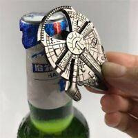 Star Wars Bottle opener Millennium Falcon & Darth Vader Metal openers keychain