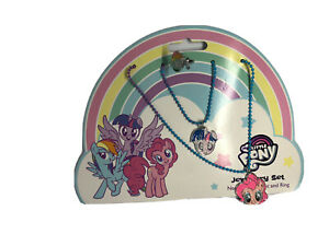 My little Pony jewellery Necklace Bracelet And Ring Set Gift For Girls