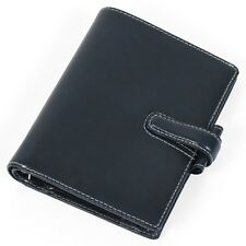 *NEW* Filofax Cuban Italian Leather Pocket Organiser in Ink (Blue) *SEE DETAILS*