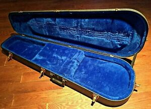 """Gibson 70s 80s ? Les Paul SG EB EBO Or EB3 ? HardShell Bass Guitar Case 13"""" Wide"""