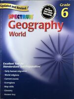 Spectrum Geography World - Grade 6