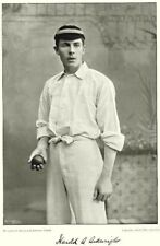OXFORD UNIVERSITY CRICKET. HA ARKWRIGHT- all- rounder 1896 old antique print