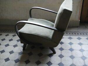 Handmade mohalik  Gorgeous Mid-Century rocking chair