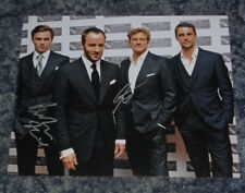 NICHOLAS HOULT & COLIN FIRTH- A SINGLE MAN - 10x8  PHOTO  SIGNED. (74)