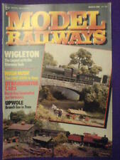 MODEL RAILWAYS - WIGLETON - March 1988 vol 5 #3