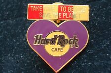 HRC Hard Rock Cafe Online Staff Purple Ambassador Heart XL Fotos