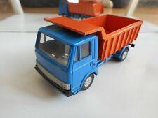 Bburago burago Fiat 50 NC Dump Truck in Blue/Orange on 1:43