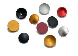 Soft Shutter Release Buttons X10 Mixed Colours and Styles Concave Flat Convex